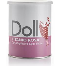 Воск классический с диоксидом титана, розовый, 800 мл, банка, Xanitalia