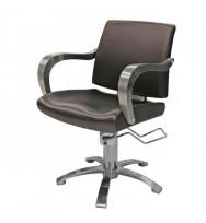 """Гидравлическое кресло клиента """"335"""", коричневое"""