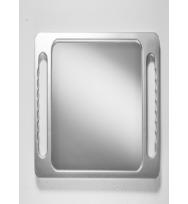 Зеркало прямоугольное, серебряное