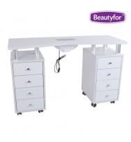 Маникюрный стол с вытяжкой Beautyfor