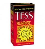 Чай Tess черный Sunrise, 25 х 1,5 г, в пакетиках