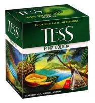 Чай зеленый Tess Pina Colada,20*1,8 г