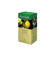 Чай Gf Lemon Spark, 25x1,5 г, цейлонский с цедрой и ароматом лимона
