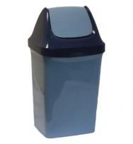 Бак для мусора с плав. крышкой Свинг, 9 л. (М2461)