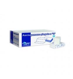 Полотенца листовые PaperDivipac Z-сложение, 2 слоя, 150 л, 20,6х24 см, белые (PP-AZ802/206)