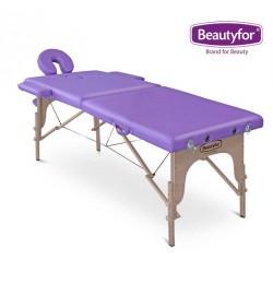 Кушетка массажная FMA201A 186х60х70-80(д/ш/в), портативная, фиолетовая, Beautyfor
