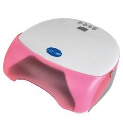 Лампа для маникюра (ЛЕД), розовая,12ватт, Beautyfor