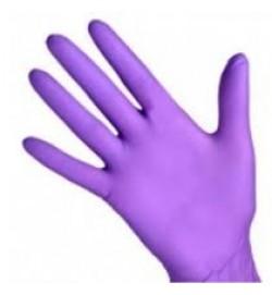 Перчатки нитриловые, неопудренные 100 шт/упак (UN) сиреневый M