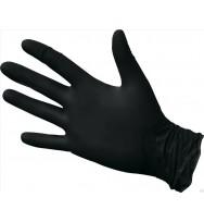Перчатки нитриловые, неопудренные S черные 100 шт/упак (UN)