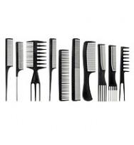 Набор расчесок Professional Comb Kit 10 шт/уп.