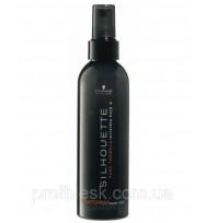 Жидкий лак для волос сверсильной фиксации Schwarzkopf Silhouette, 200 мл