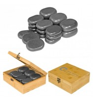 Комплект базальтовых камней для массажа H18TC2 18 шт