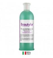 Гель для подготовки кожи к депиляции с мятой и ментолом, 500 мл, Beautyfor