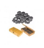Комплект базальтовых камней для массажа H45TC2 45 шт