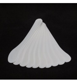 Шпатель одноразовый пластиковый 15,5 см, 10шт/уп, белый