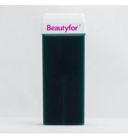 Воск в картридже с азуленом, синий,100 мл, Beautyfor