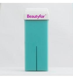 Воск в картридже с диоксидом титана, голубой,100 мл, Beautyfor