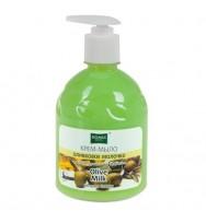 Жидкое мыло Domix, оливковое молочко 500мл