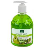 Жидкое мыло Domix, зеленое яблоко 500мл