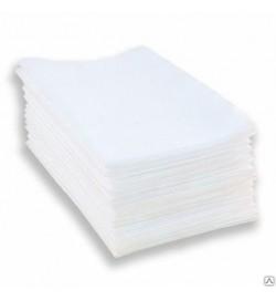 Полотенце одноразовое листовое, спанлейс, 45x90 см, 40 г/м, stamping, 50шт/уп.