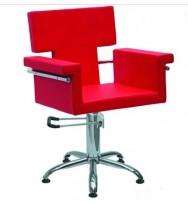 Кресло Николь, гидравлика, красный