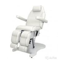 Педикюрное кресло с 3 моторами, белое